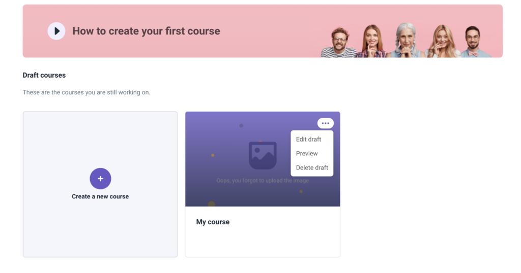 edit course